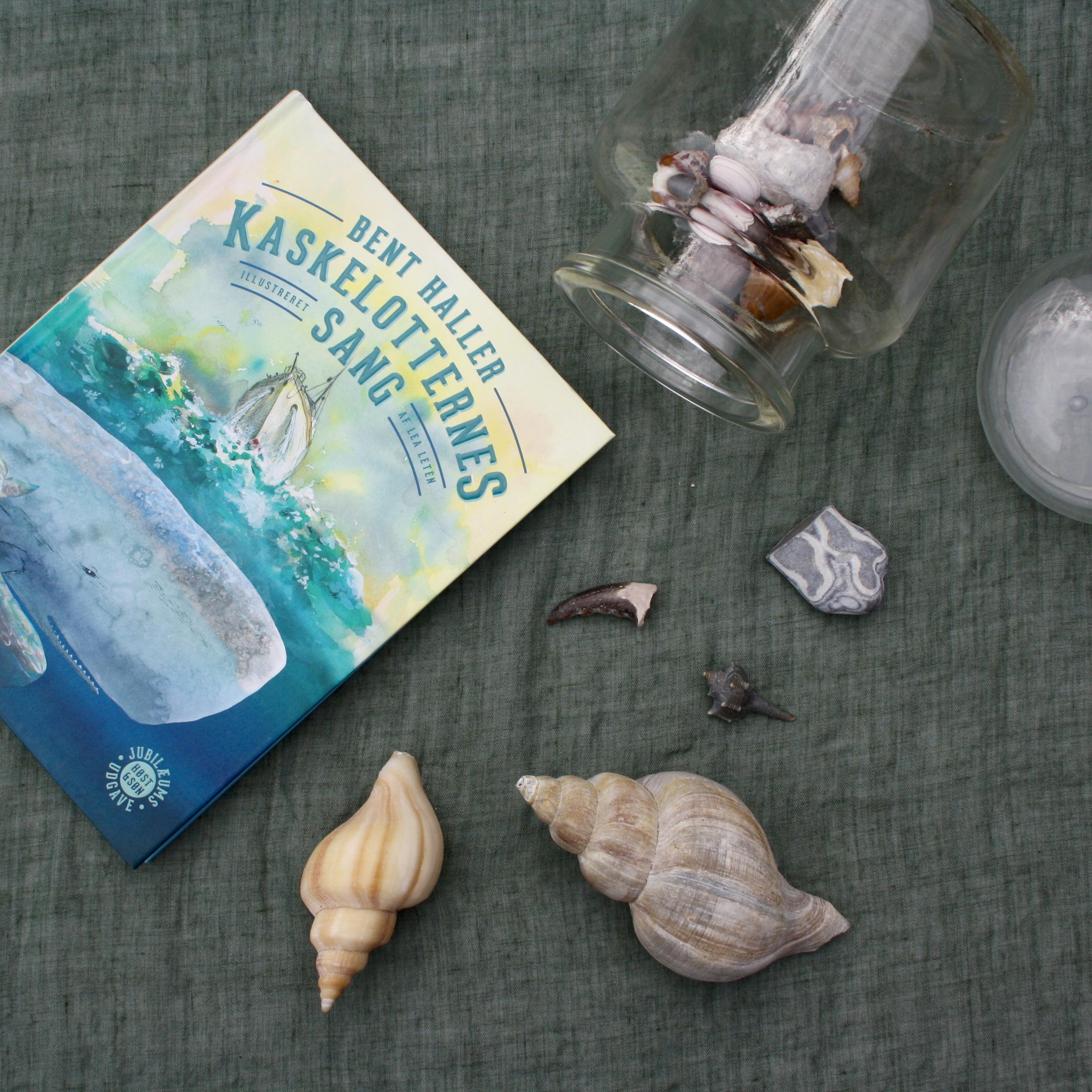 Kaskelotternes sang, Bent Haller, Lea Letén, bogoplevelsen
