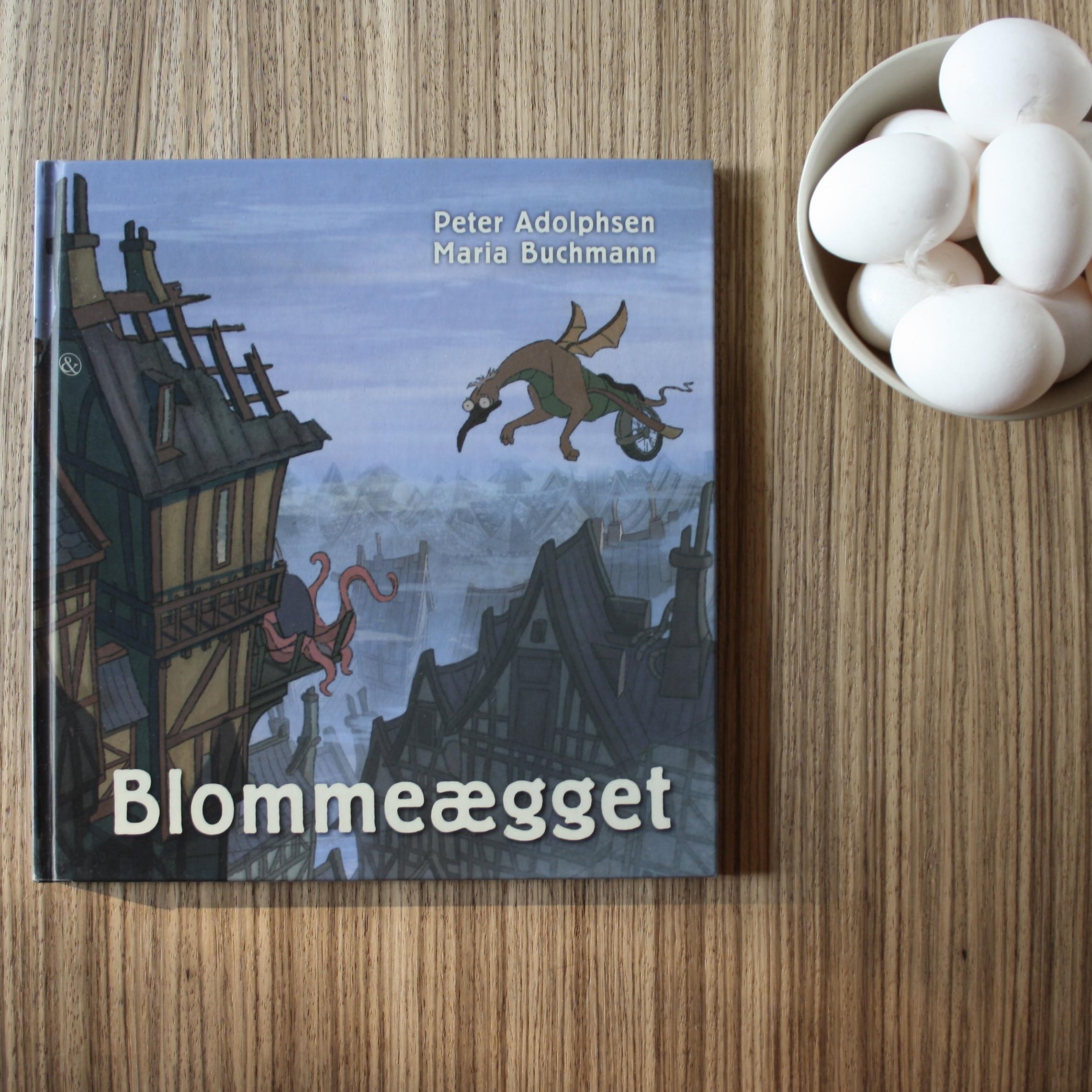Blommeægget, Peter Adolphsen, Maria Buchmann, bogoplevelsen