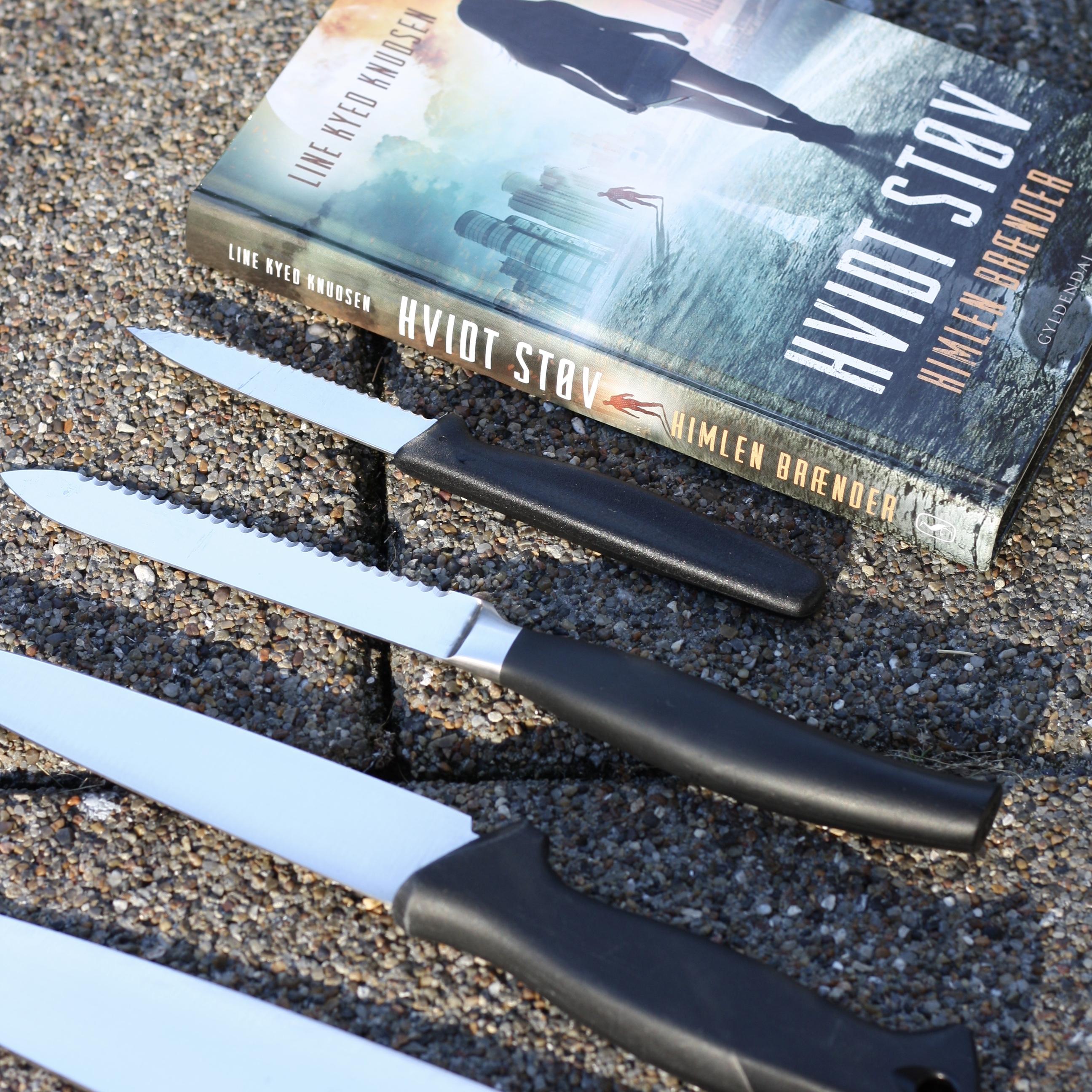 Line Kyed Knudsen, Hvidt støv 2 - Himlen brænder, bogoplevelsen