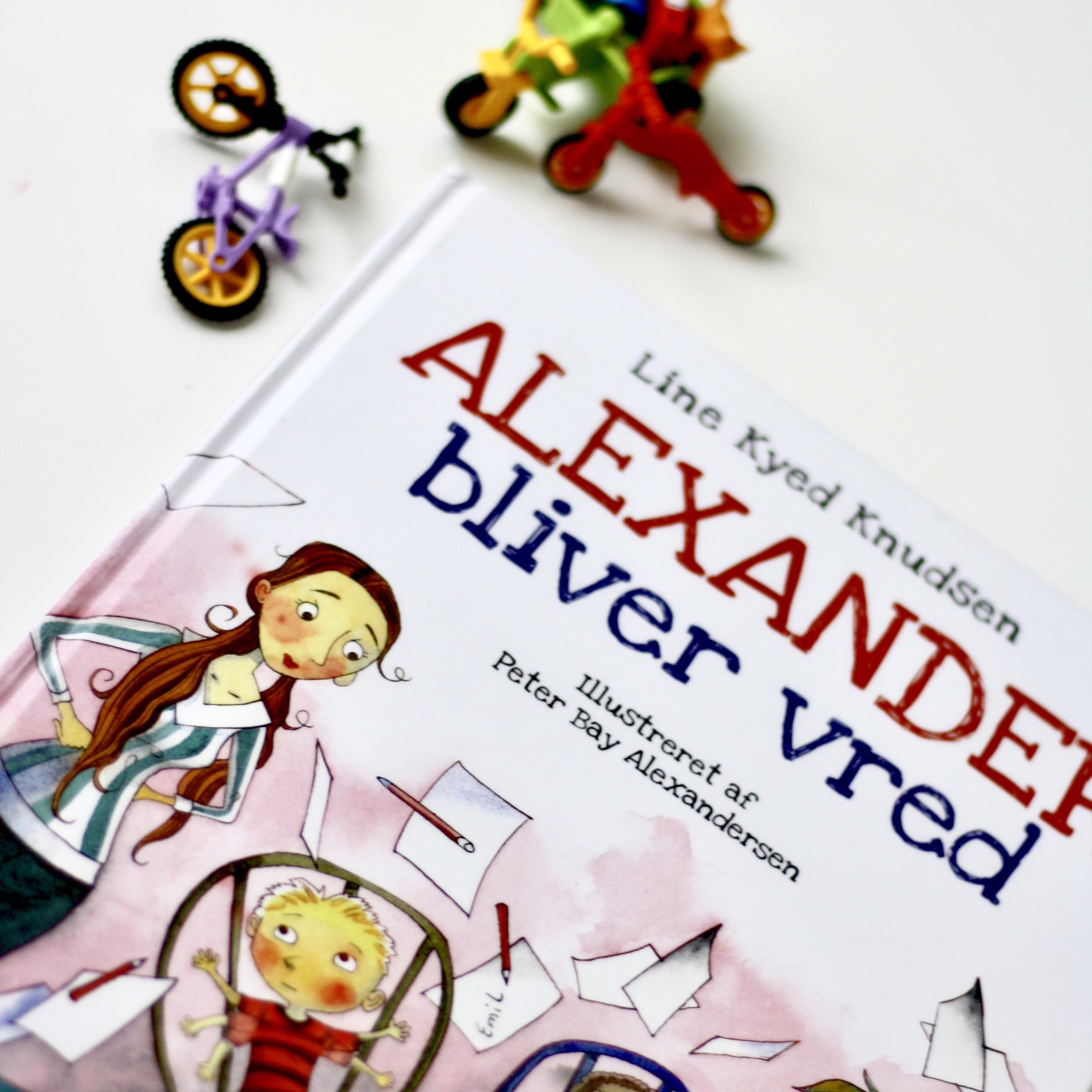 Alexander bliver vred, Line Kyed Knudsen, Peter Bay Alexandersen, Bogoplevelsen