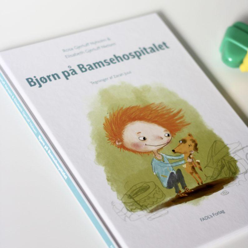 Bjørn på Bamsehospitalet, Rosa Gjerluff Nyholm, Elisabeth Gjerluff Nielsen, Bogoplevelsen