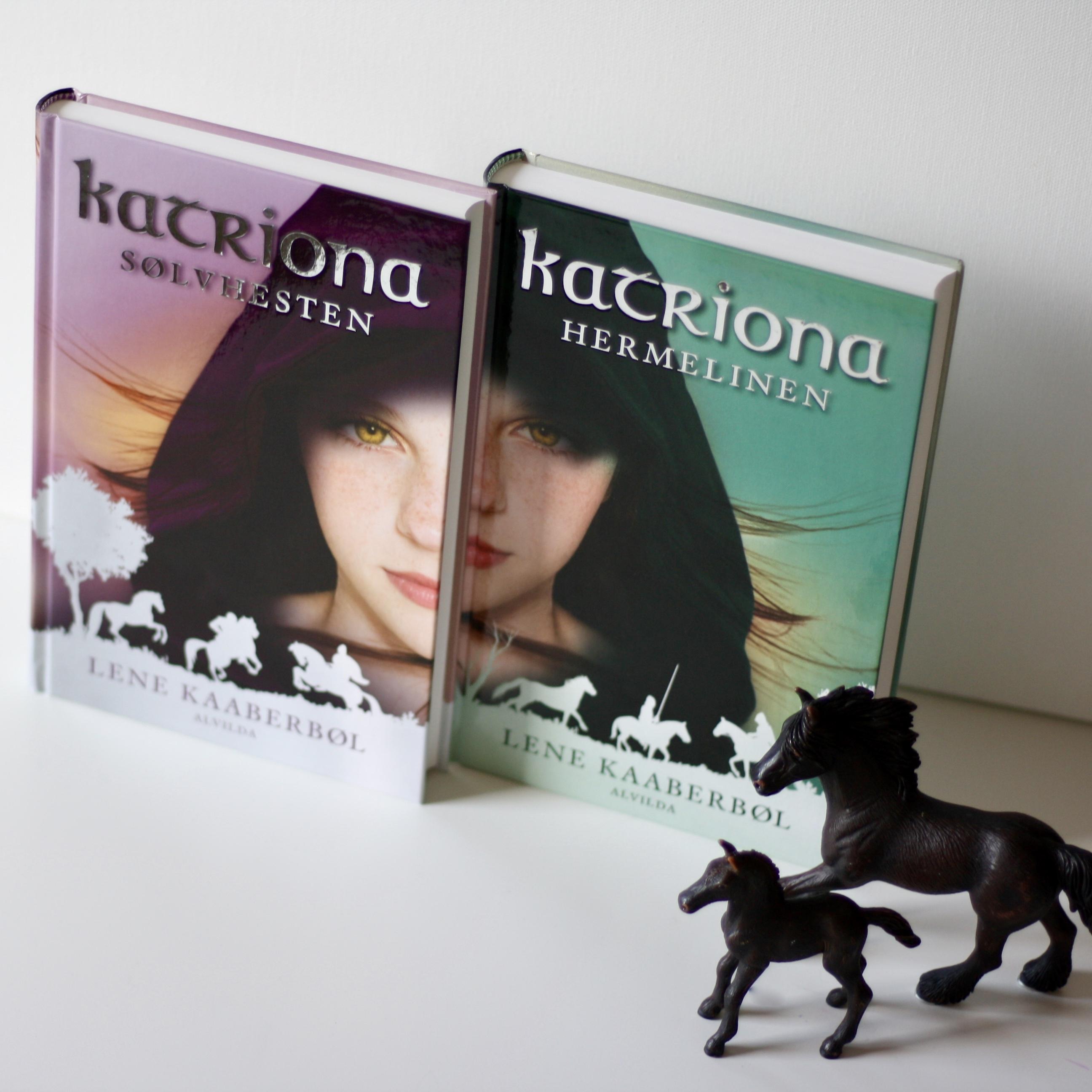 Lene Kaaberbøl, Katriona, Hermelinen, Sølvhesten, bogoplevelsen,