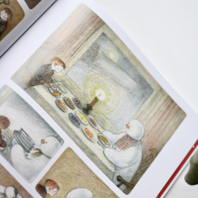 Snemanden, Raymond Briggs, Bogoplevelsen, The snowman