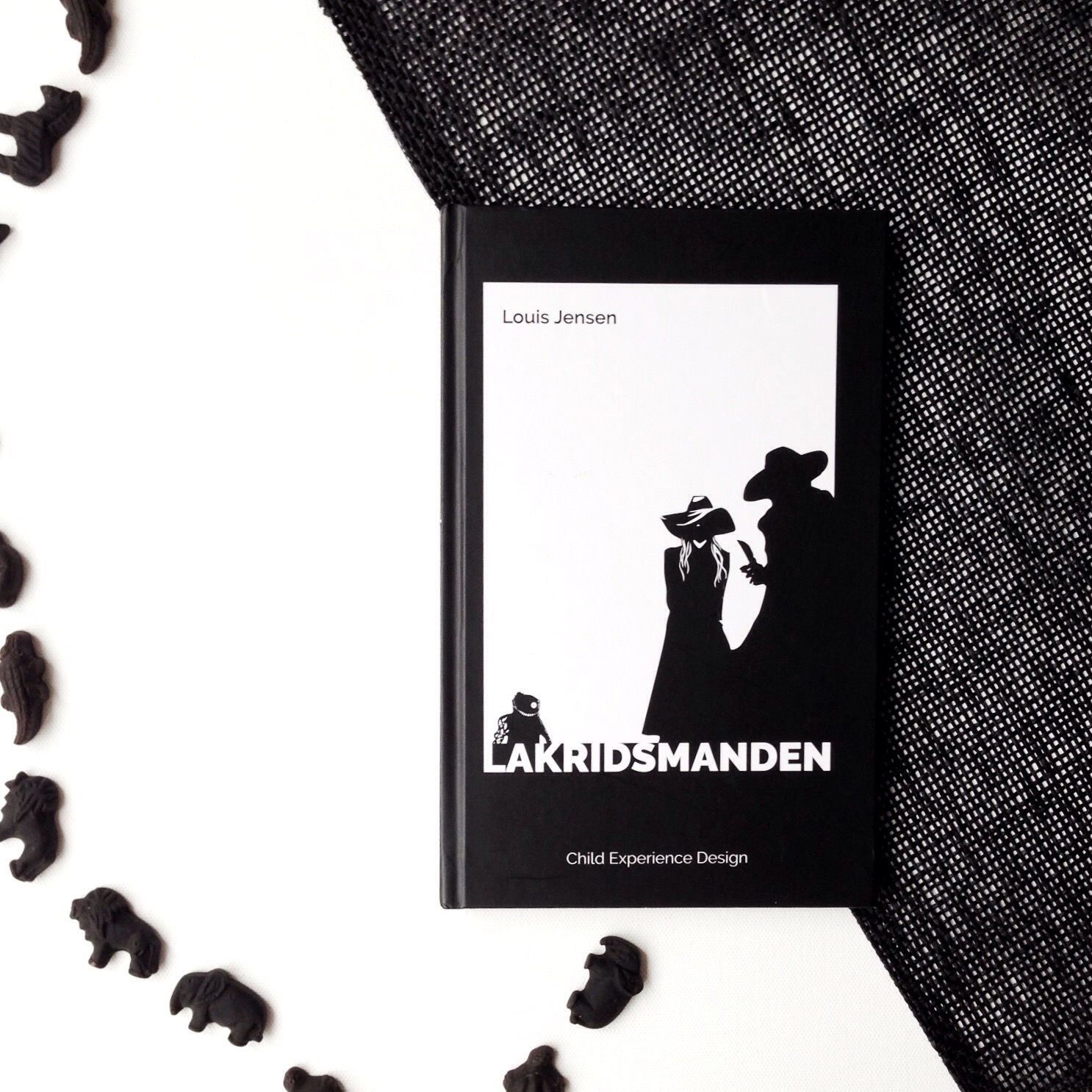 Lakridsmanden, Louis Jensen, Bogoplevelsen