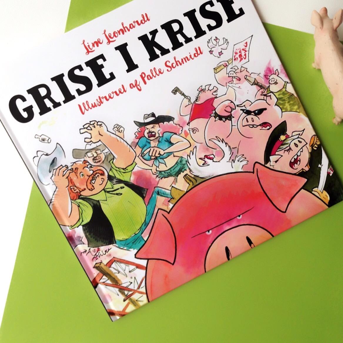 Line Leonhardt, Palle Schmidt, Grise i krise, Bogoplevelsen