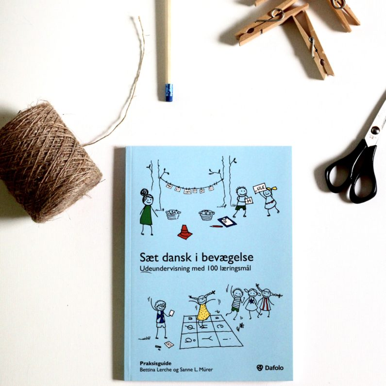 Sæt dansk i bevægelse, Bettina Lerche, Sanne L. Mürer, bogoplevelsen