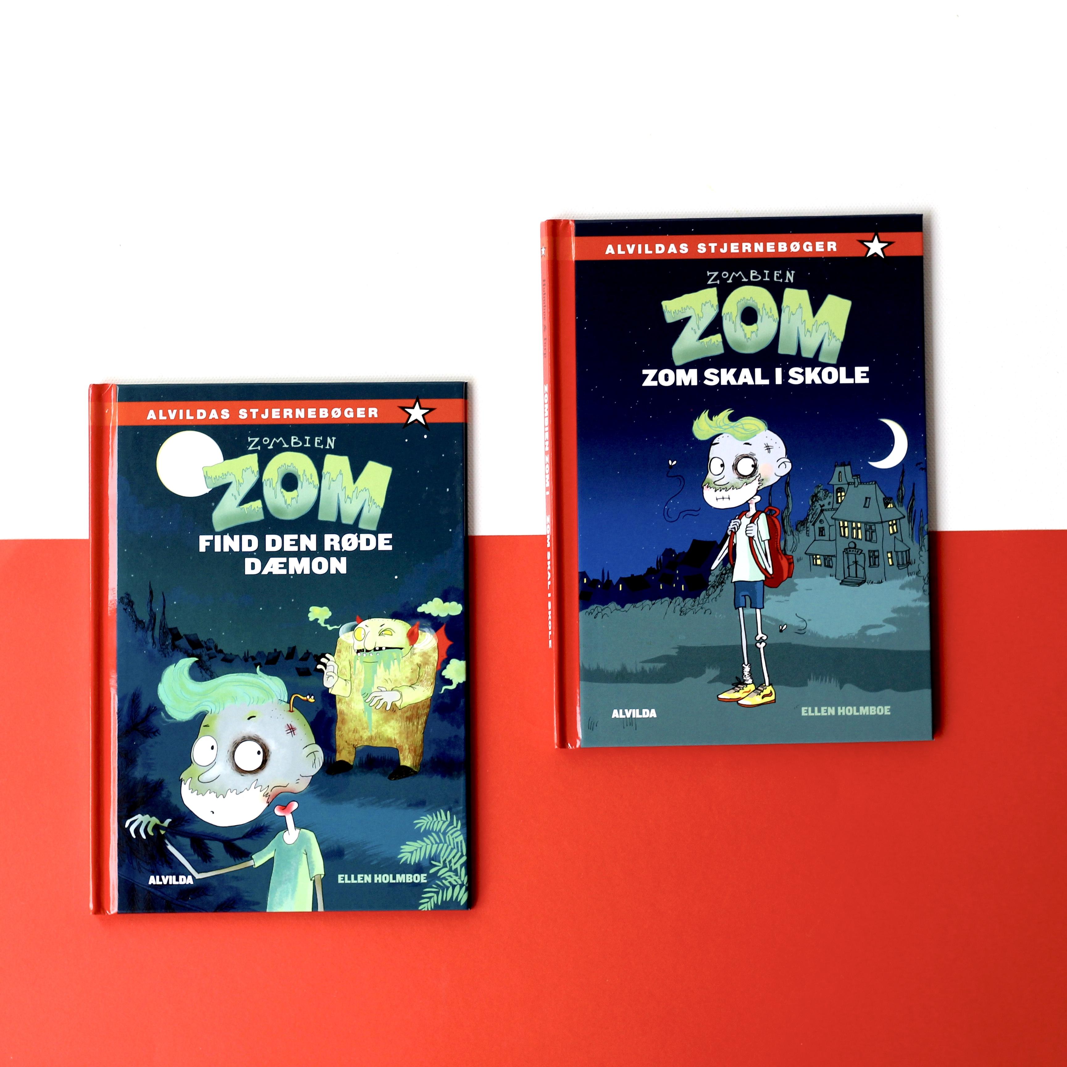 Ellen Holmboe, Zombien Zom, Bogopelvelsen