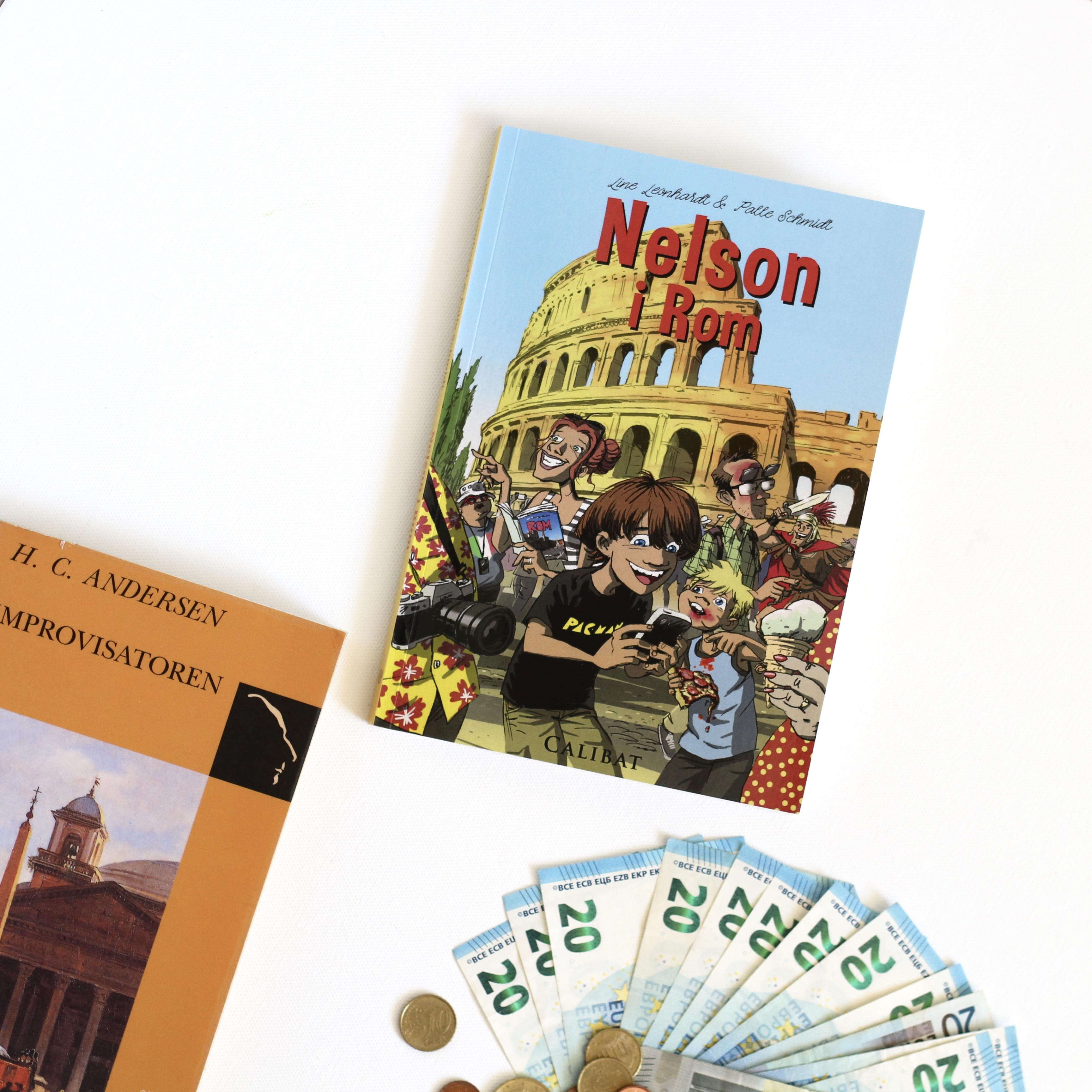 Nelson i Rom, Line Leonhard, Palle Schmidt, Bogoplevelsen