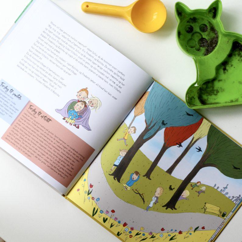 Min dag i børnehave, Ina Haller, Dina Gellert, Bogoplevelsen