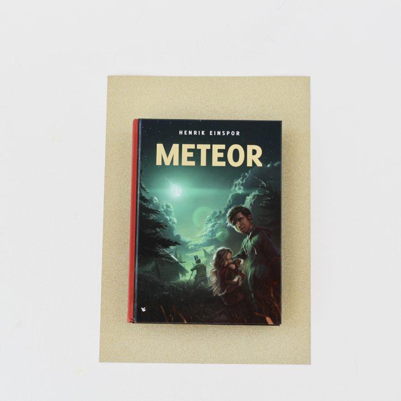 Henrik Einspor, Meteor, Bogoplevelsen