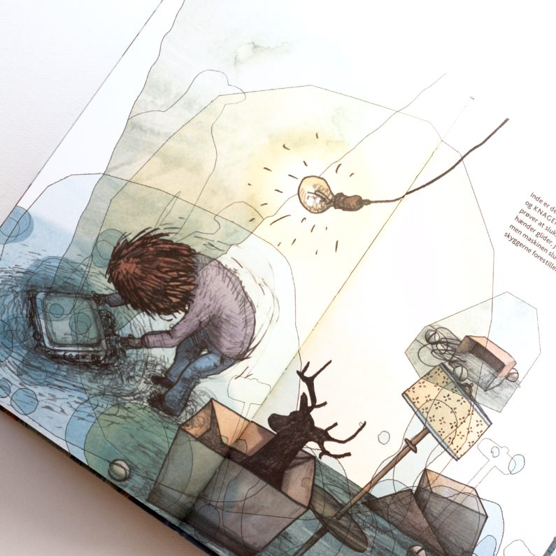 Huset på havets bund, Martin Glaz Serup, Lars Vegas Nielsen, Bogoplevelsen