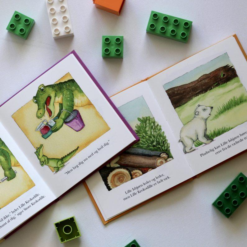 Lille Krokodille, Bogoplevelsen, Burde Poulsen