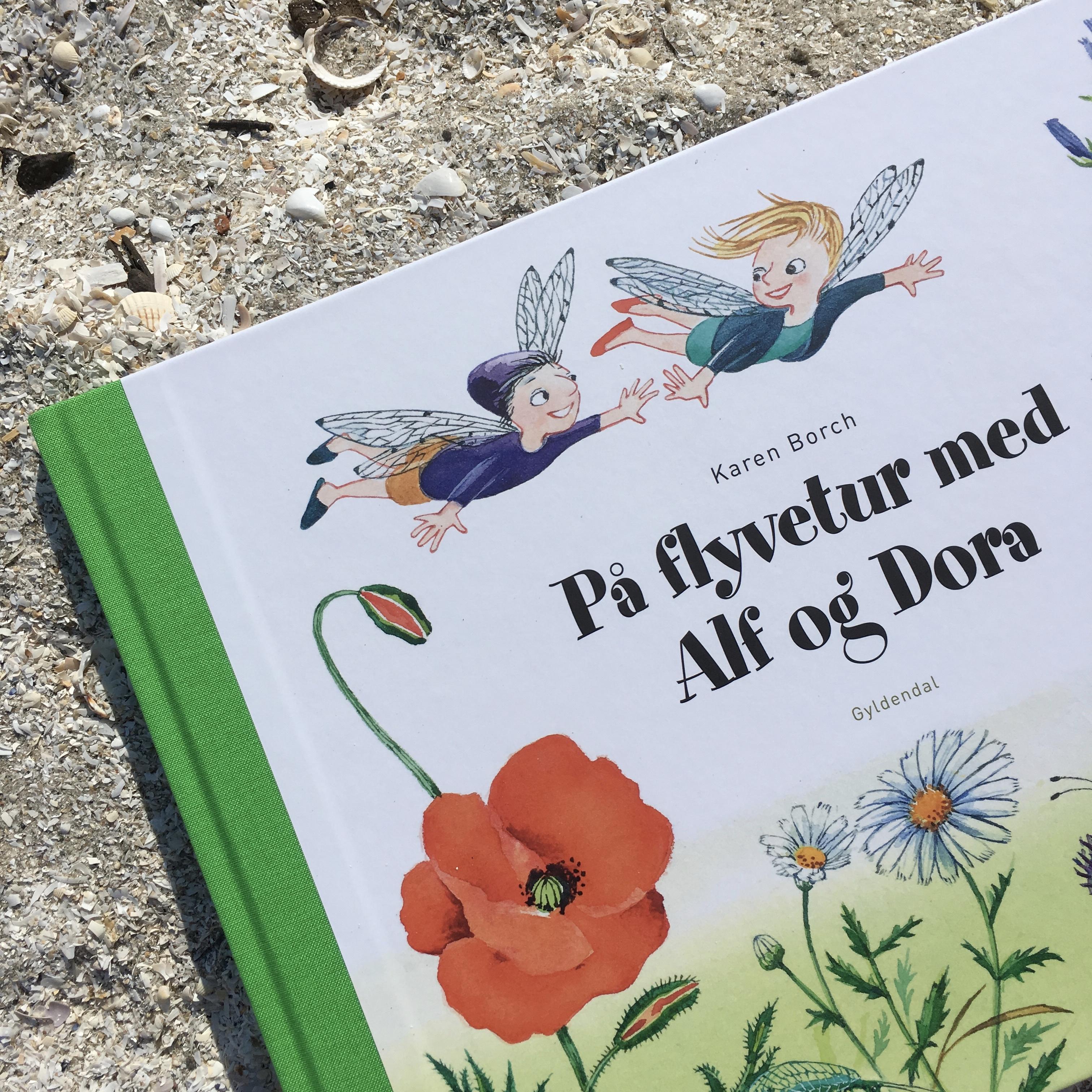 På flyvetur med Alf og Dora, Karen Borch, Bogoplevelsen